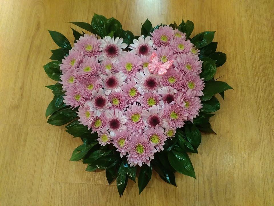 Сърчице в розово
