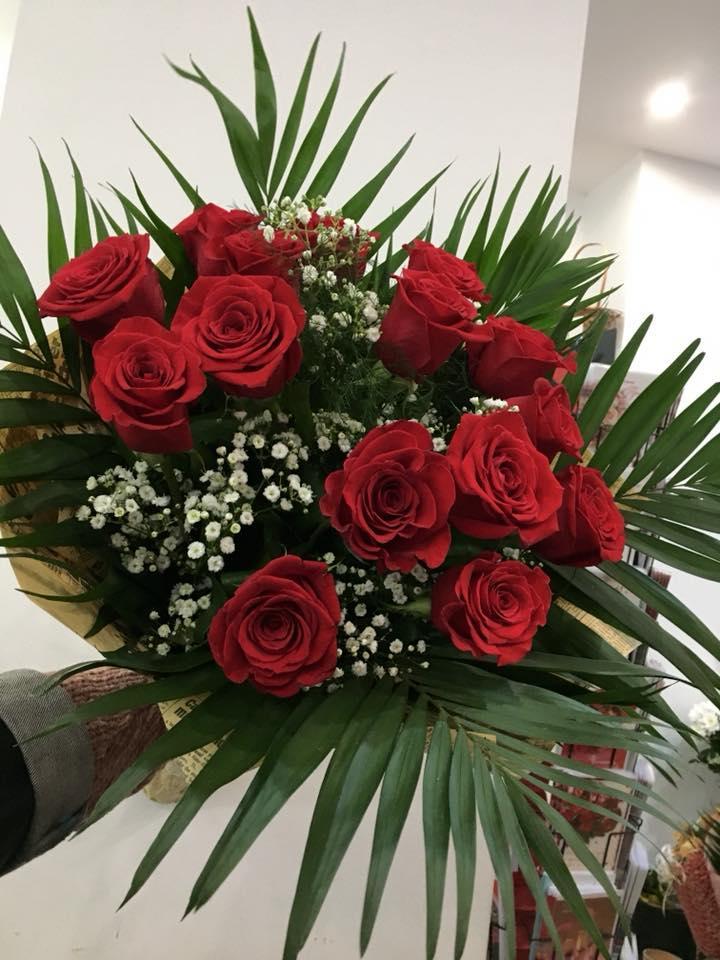 Червени рози